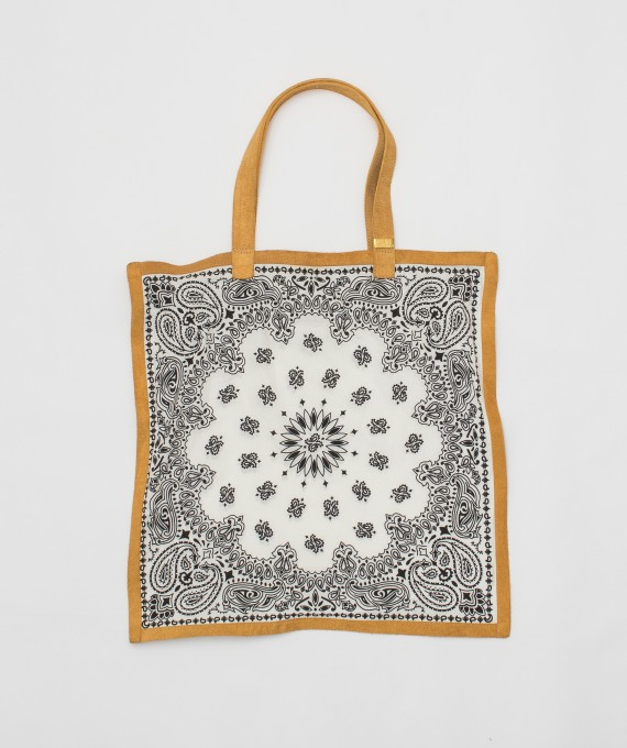 Bandana Tote Bag White