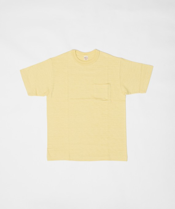 Pocket tee yellow warehouse