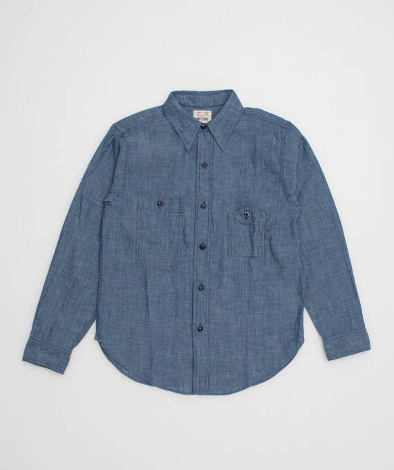 Big Yank shirt 1942 Indigo