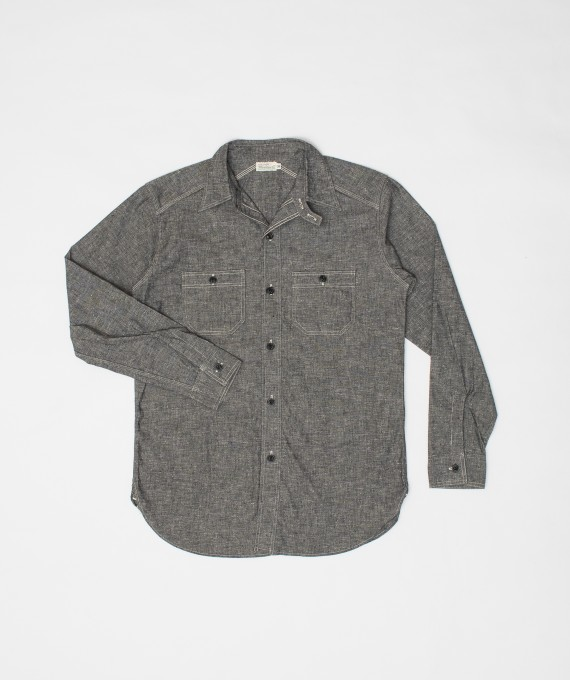 Chambray Shirt Chinstrap Black Warehouse & Co.