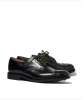 Military Derby Shoe Black Sanders