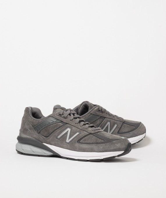 wholesale dealer 088df 28372 M990 V5 Suede Grey New Balance