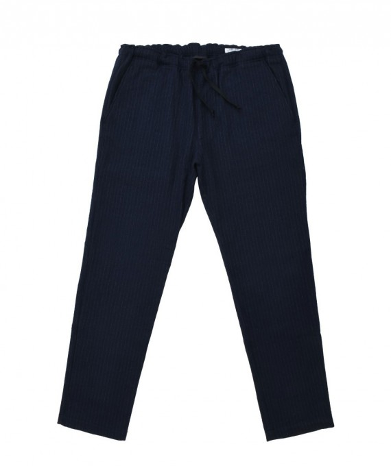 Relax Pants Navy Stripe