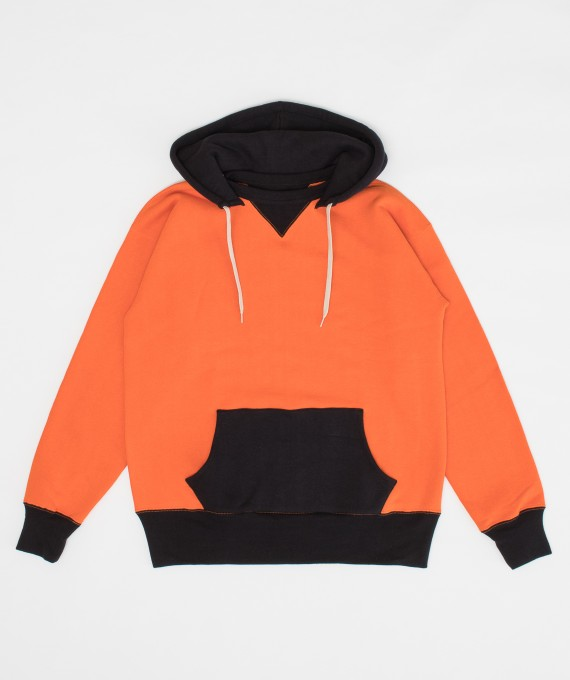 Hooded Two Tone Orange The Real McCoy's