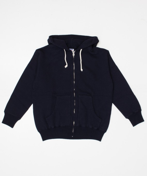 Tsuriami Zip Hoodie Navy Warehouse & Co.