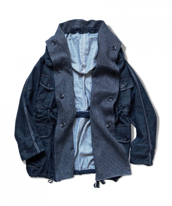 ARMY RING Coat 10oz Denim