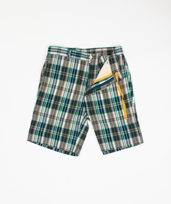 Madras Short Green