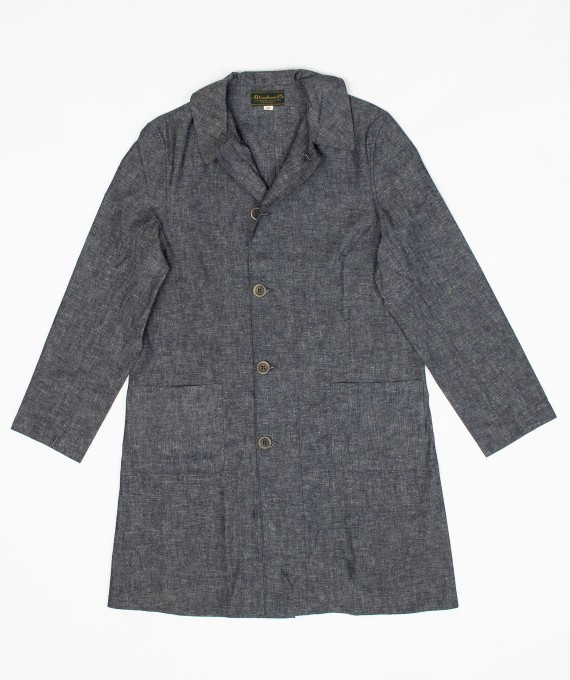 Shop Coat Chambray Warehouse