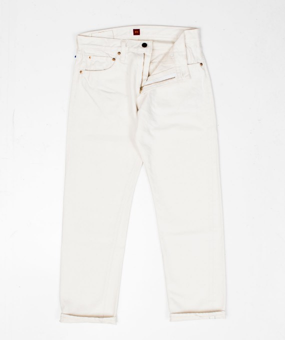 712 White denim pants RESOLUTE