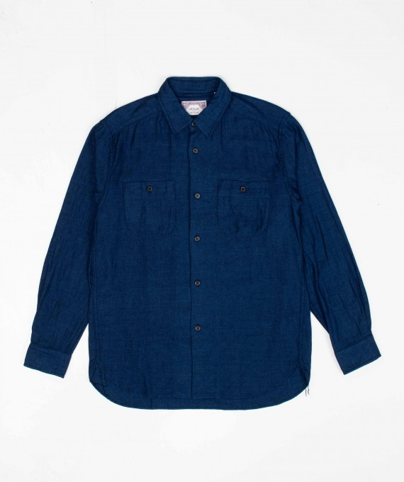 New Casual Shirt Indigo