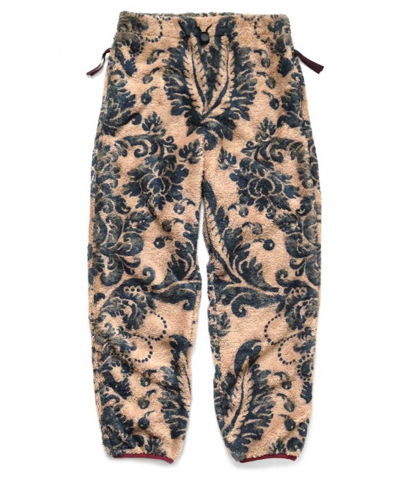 DAMASK Fleece Pants Kapital