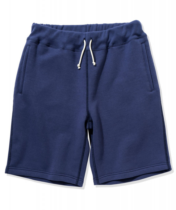 9 oz Loopwheel Sweatshorts Blue The Real McCoy's