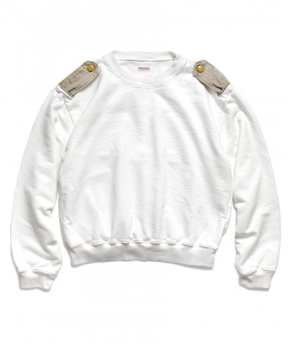 Kamome Crew Sweat White Kapital