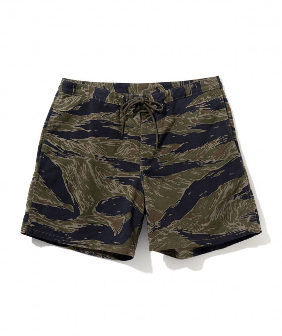 Tiger Camo Swim Trunks