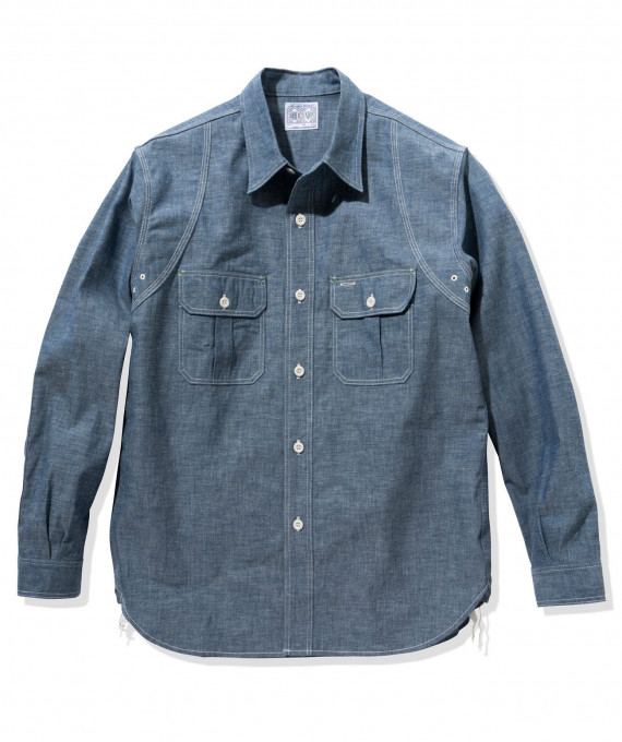 8HU Heavy Chambray Shirt