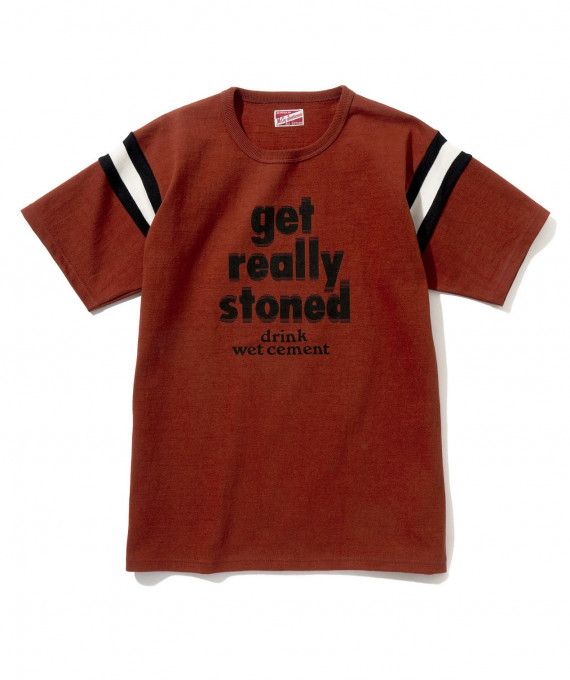 """Tee """"Get really stoned"""" Red"""