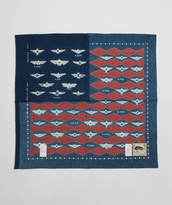 Bandana Flag Harvey Red