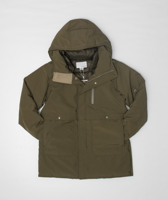 Down coat Light khaki