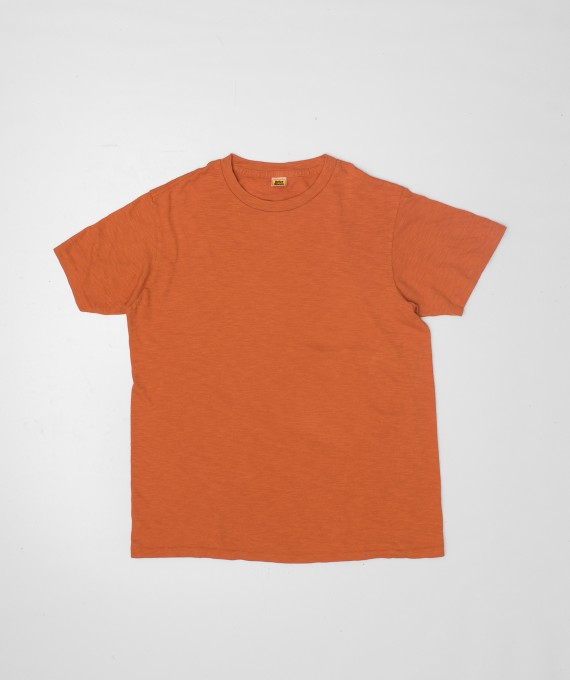 Rolled regular tee Orange