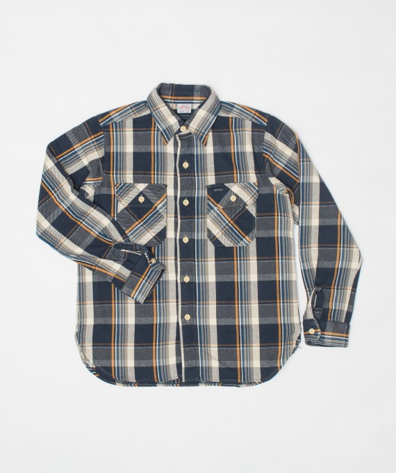 Flannel Shirt Navy