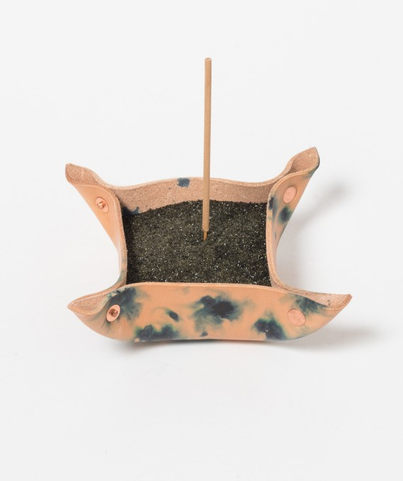Sand Incense Burner Indigo